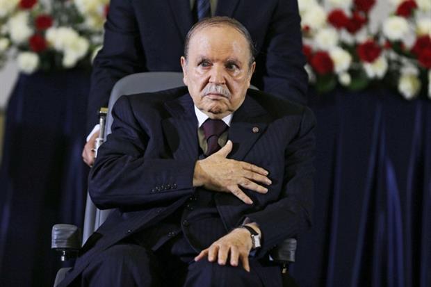 Il presidente algerino Bouteflka (Ansa)