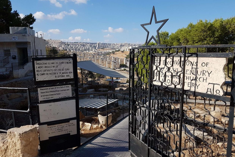 Il campo dei pastori a Betlemme, santuario della Custodia di Terra Santa (foto Gambassi)