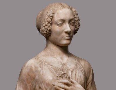 Verrocchio, «Dama col mazzolino» (Firenze, Museo del Bargello)