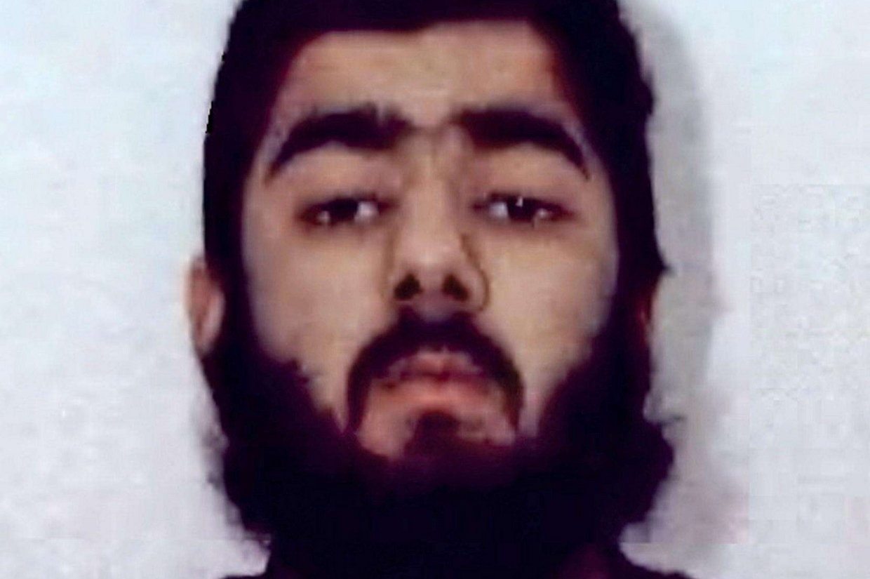 Usman Khan, 28 anni, il killer ucciso dalla polizia (Ansa)