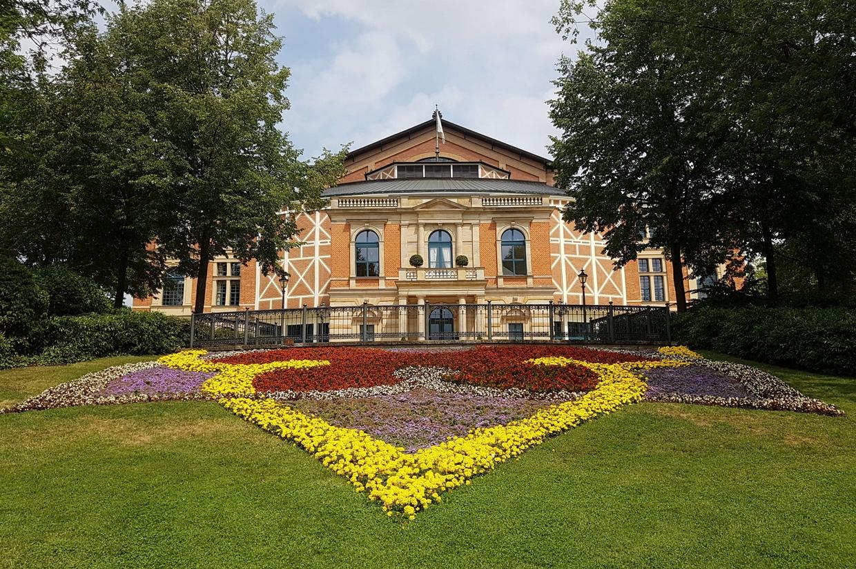 Il teatro del Festival wagneriano di Bayreuth