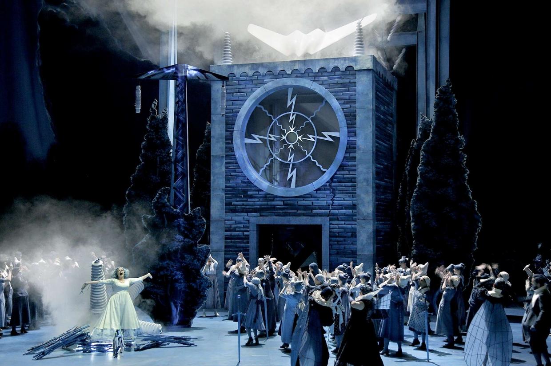 """""""Lohengrin"""" al Festival di Bayreuth (foto Nawrath'Bayreuther Festspiele)"""