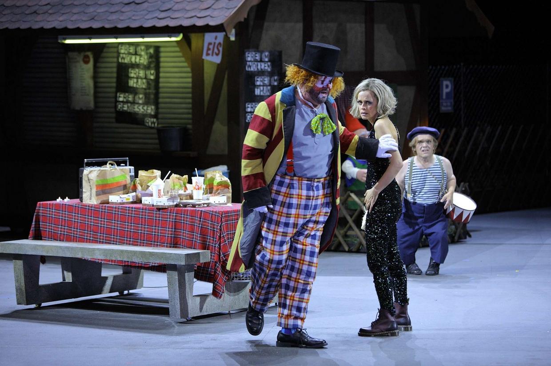 """Il primo atto di """"Tannhäuser"""" al Festival di Bayreuth (foto Nawrath'Bayreuther Festspiele)"""