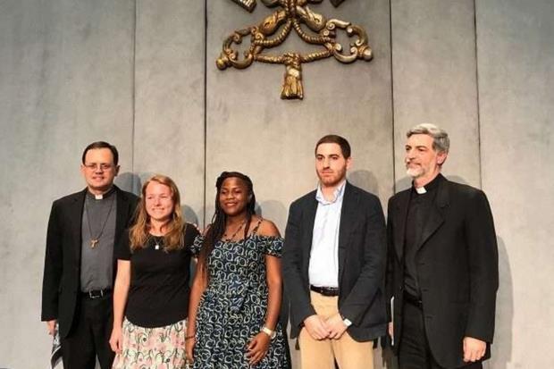 La presentazione del Forum in Sala stampa vaticana (Vatican News)