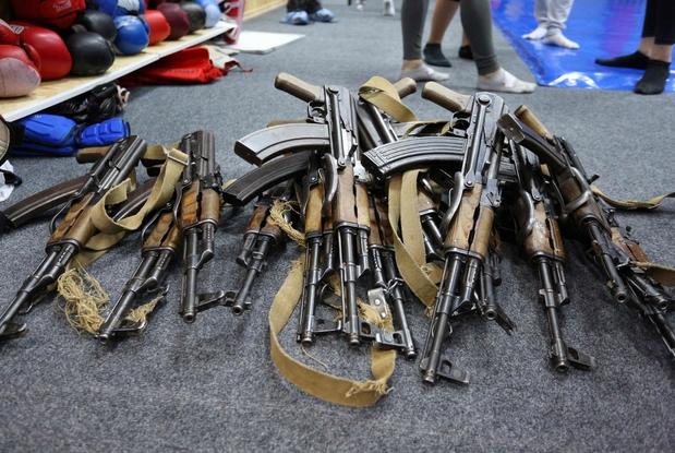 Tra le armi più vendute, i kalashnikov