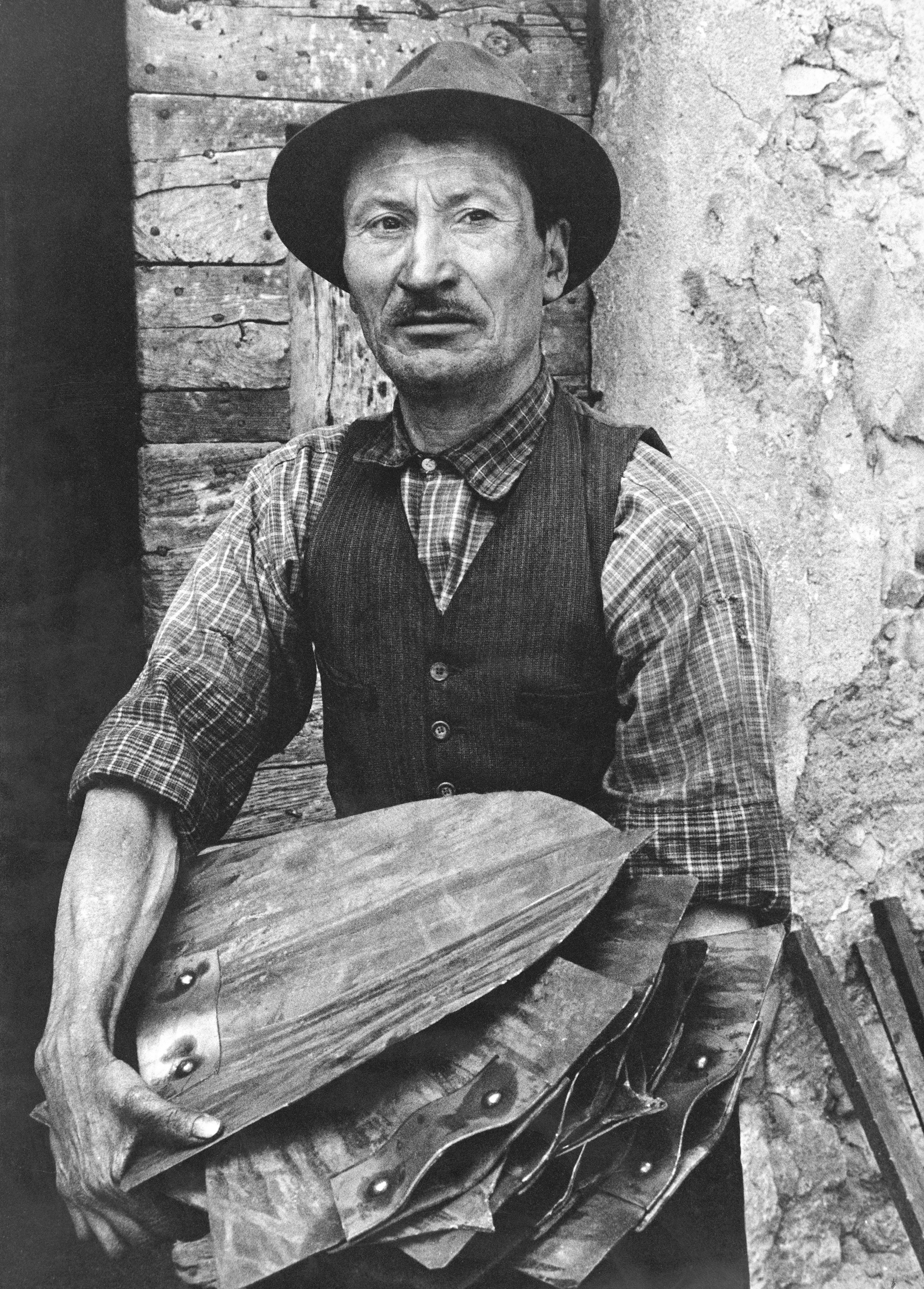 il maglio di Clanezzo, 1965 (Pepi Merisio)