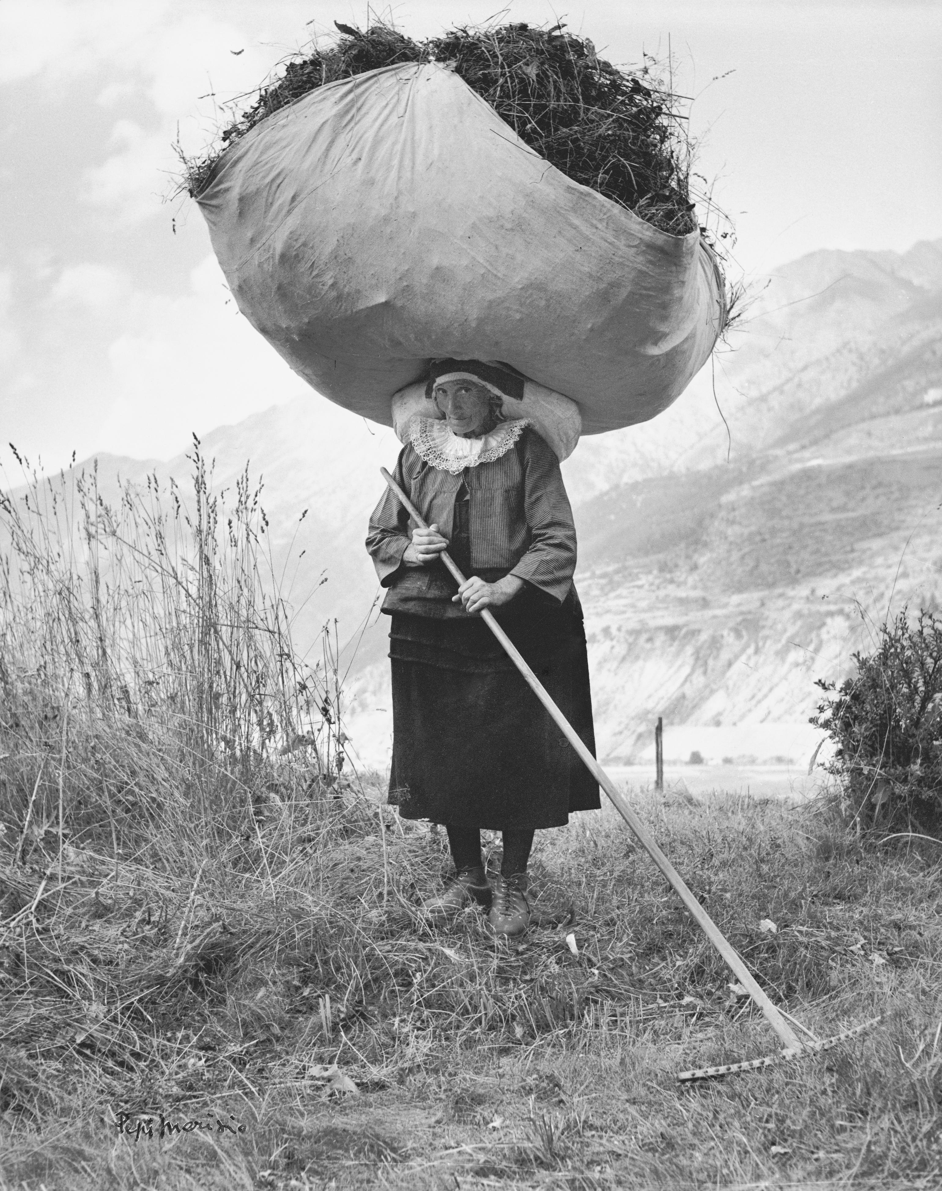 Cogne, 1959 (Pepi Merisio)