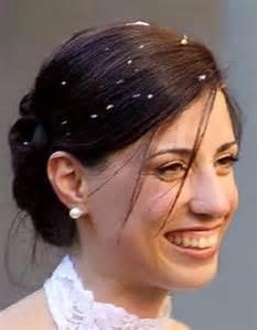 Caterina Morelli il giorno del matrimonio