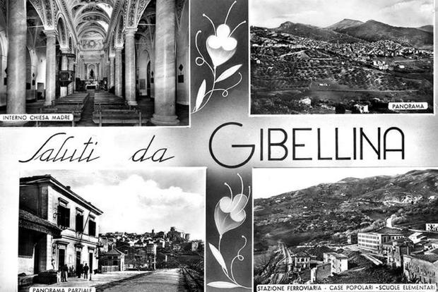 """""""Saluti da Gibellina"""", una cartolina storica"""