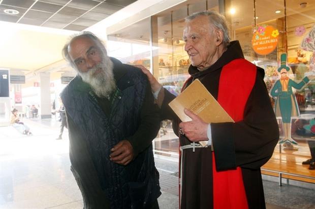 Padre Pesce con un suo amico (Juzzolino)