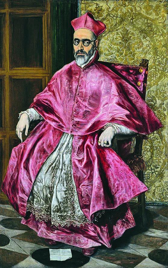 El Greco, «Ritratto del Cardinale Niño de Guevara»