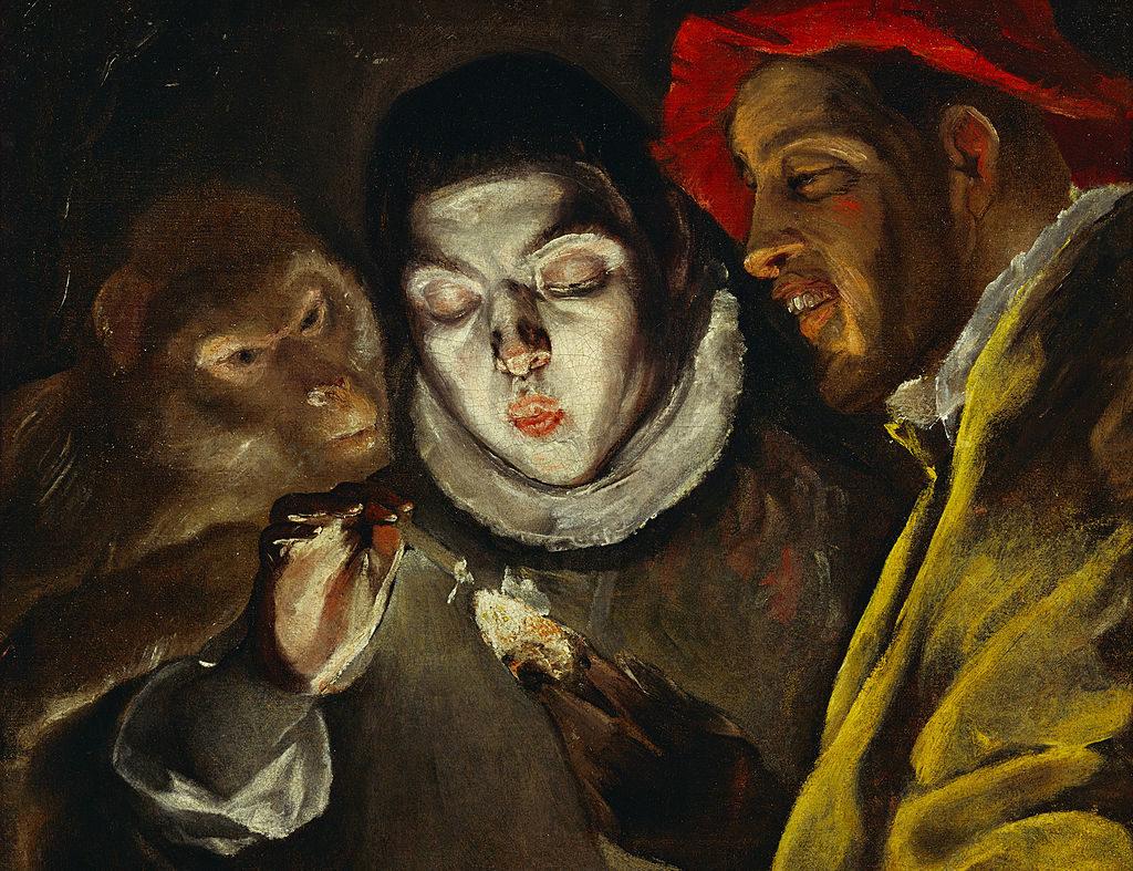 El Greco, «La Favola» (1585 c., particolare)