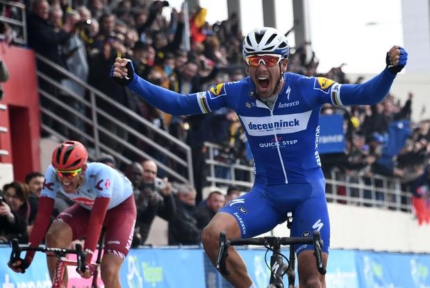 Il 37enne belga Philippe Gilbert trionfatore domenica alla Parigi-Roubaix ' Afp