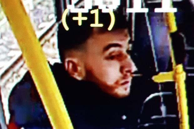 La foto del sospettato diffusa dalla polizia di Utrecht su Twitter