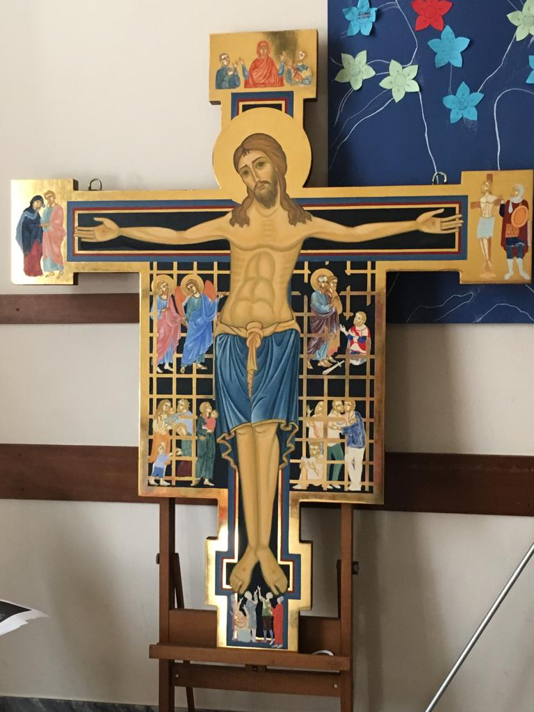 Un'altra immagine della Croce della misericordia