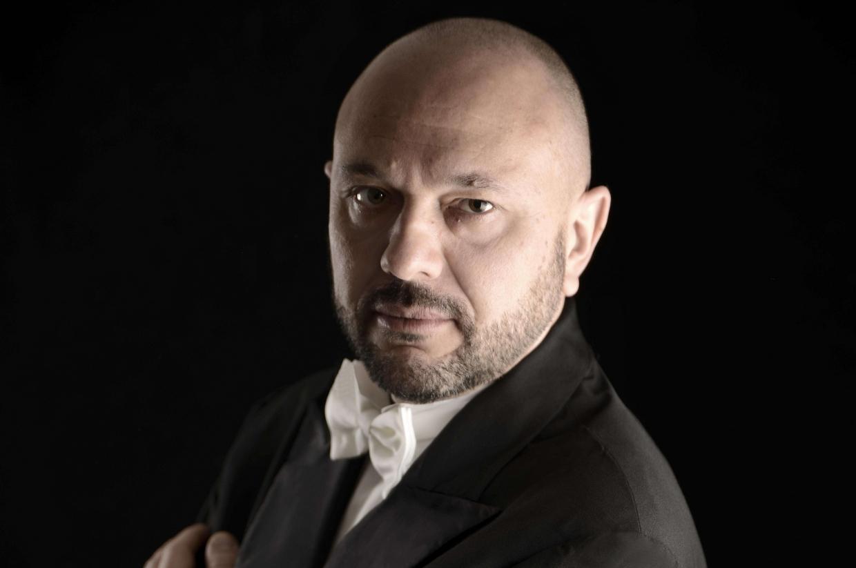Il direttore d'orchestra, Marcelo Spaccarotella