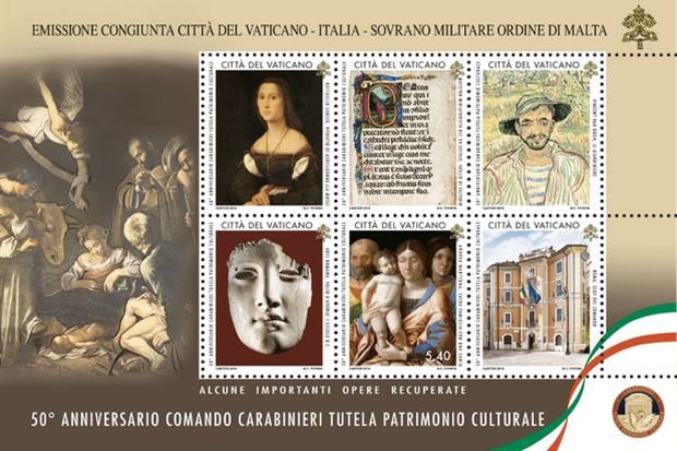 I 50 anni del nucleo tutela patrimonio culturale dei carabinieri