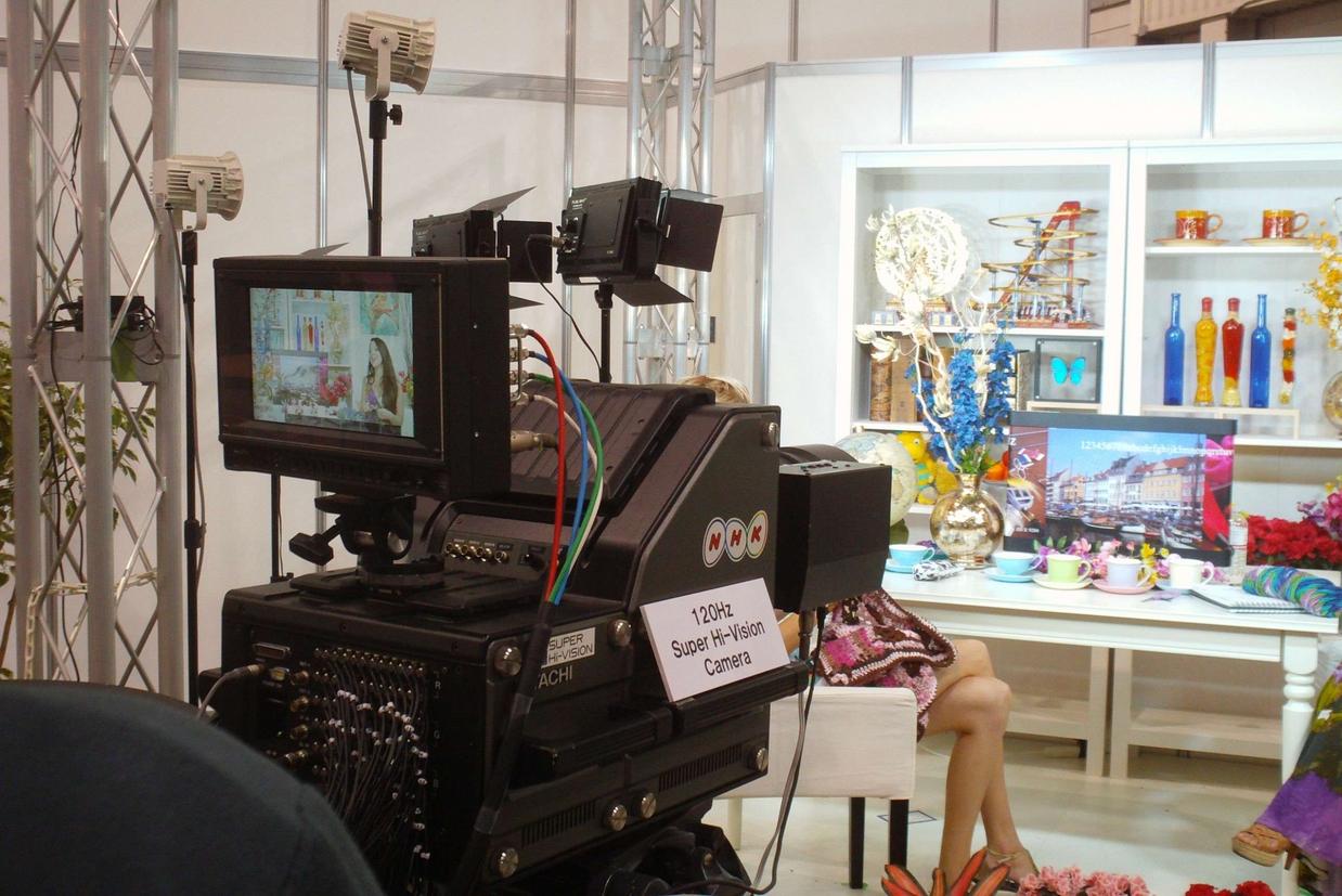 La super tv ribattezzata 8K che sarà usata nelle Olimpiadi di Tokyo del 2020