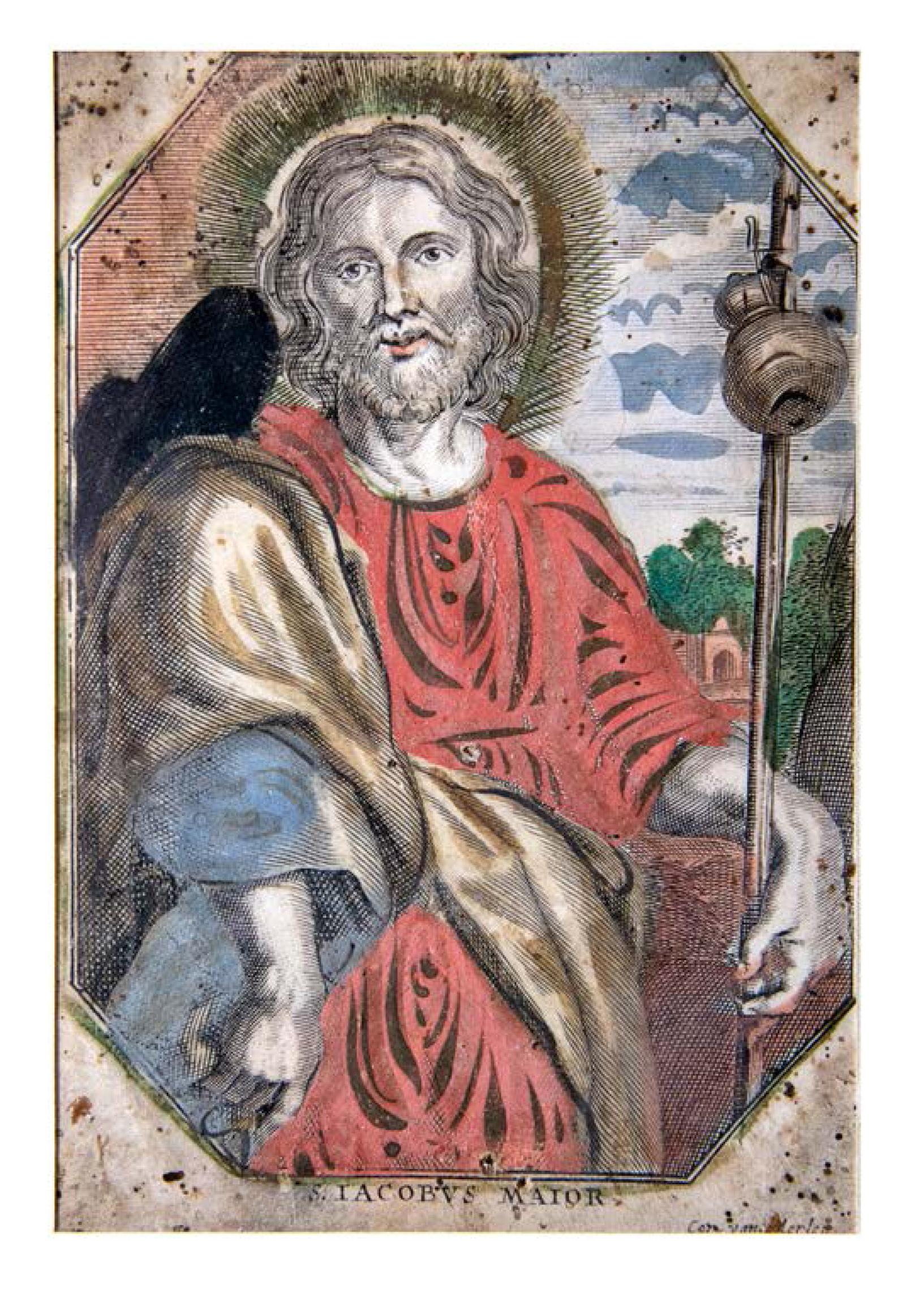 San Giacomo in una xilografia del XVII secolo