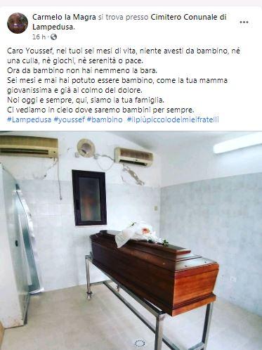 Il post del parroco di Lampedusa