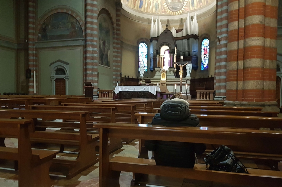 La parrocchia del Redentore vicino a piazzale Loreto