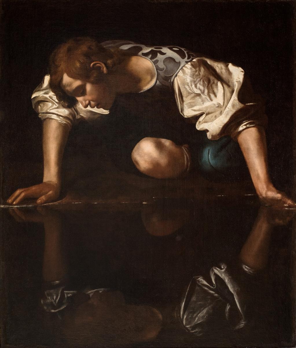 Caravaggo, «Narciso» (Roma, Museo di Palazzo Barberini)