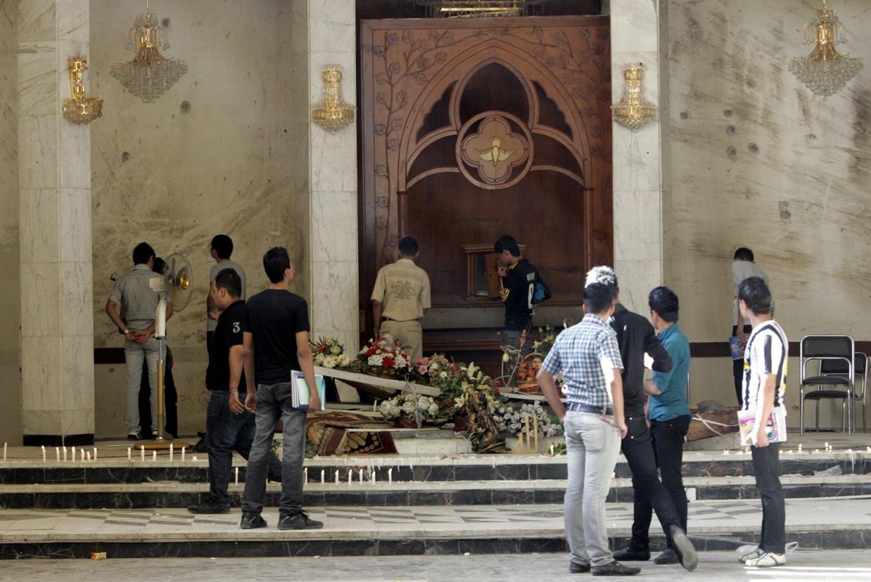 L'attentato alla Cattedrale di Baghdad nel 2010
