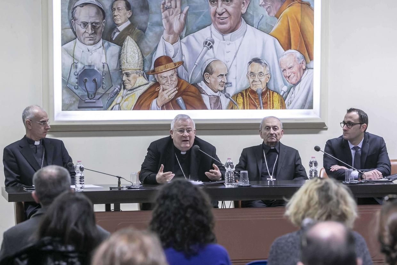 La conferenza stampa di presentazione dell'Incontro 'Mediterraneo, frontiera di pace'