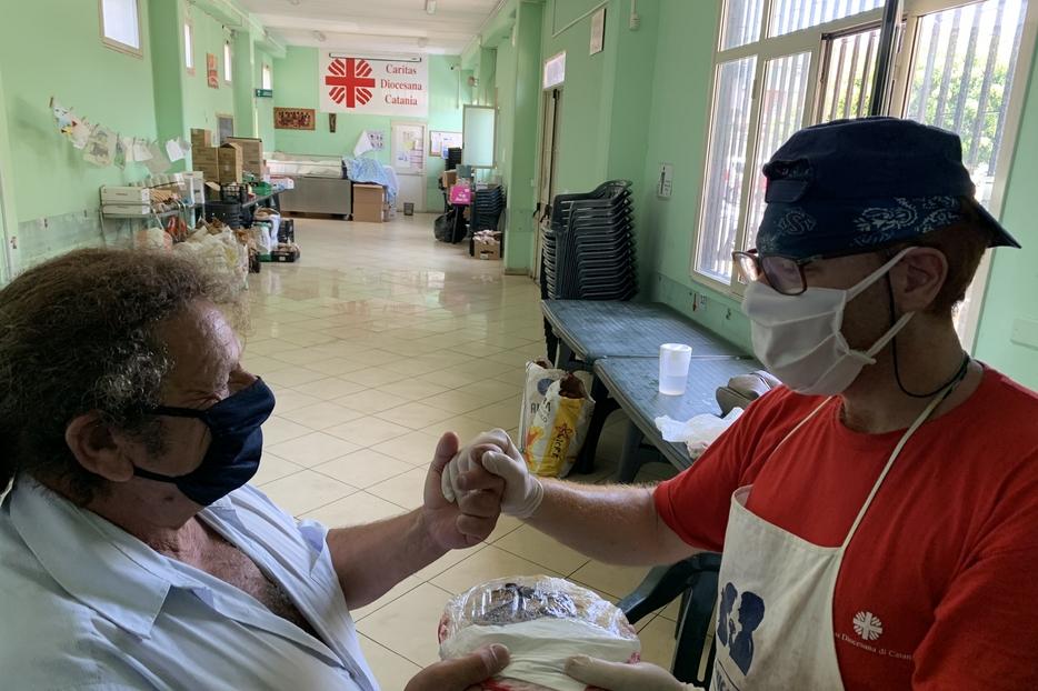 L'impegno delle Caritas diocesane e parrocchiali nell'emergenza sanitaria