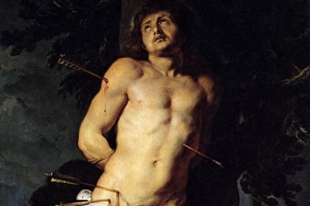 San Sebastiano secondo Rubens