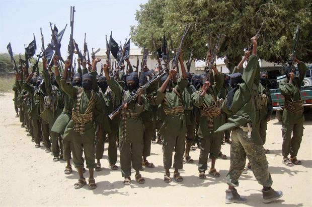 Miliziani di al-Shabaab in Somalia