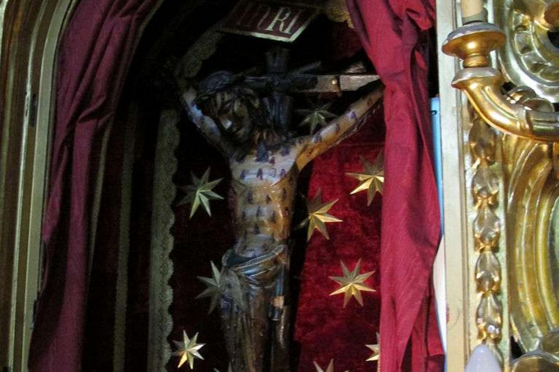 Il crocifisso miracoloso di Castelvecchio a San Miniato in Toscana