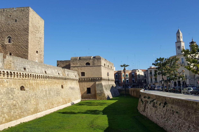 Il Castello Svevo a Bari