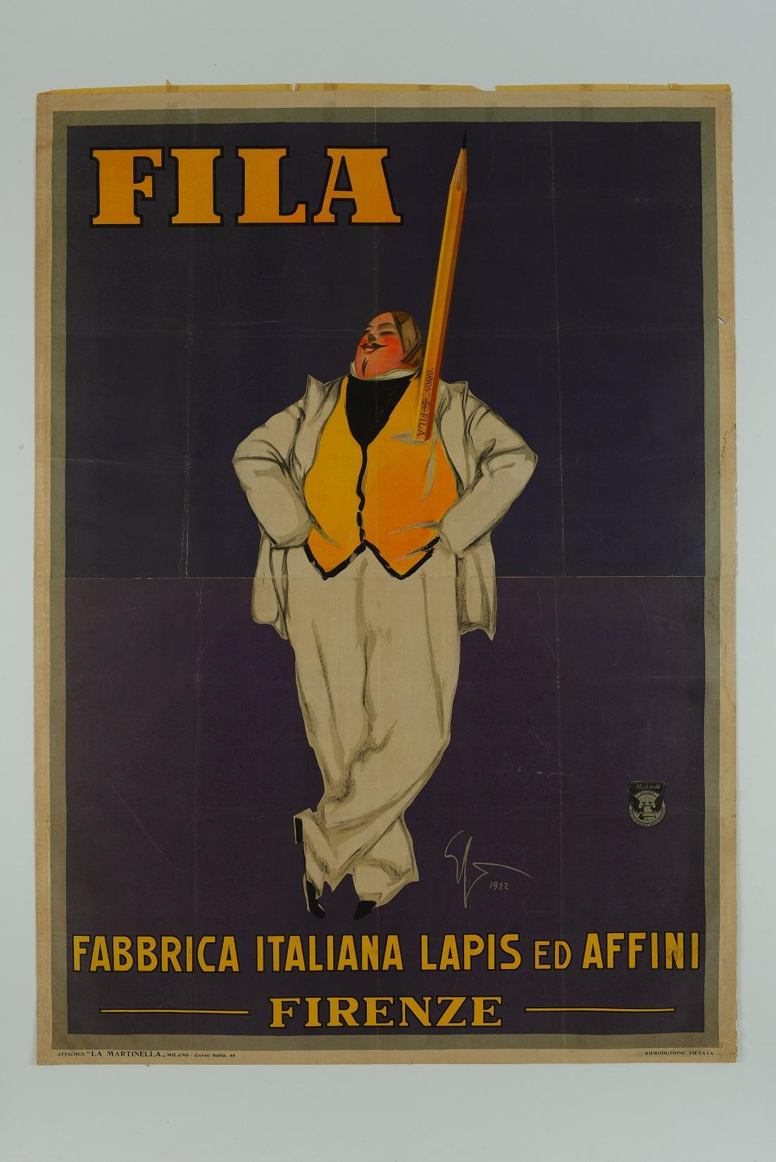Una pubblicità degli anni 20