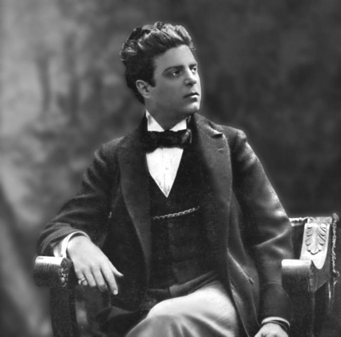 """Pietro Mascagni (1863-1945), autore di """"Cavalleria rusticana"""""""