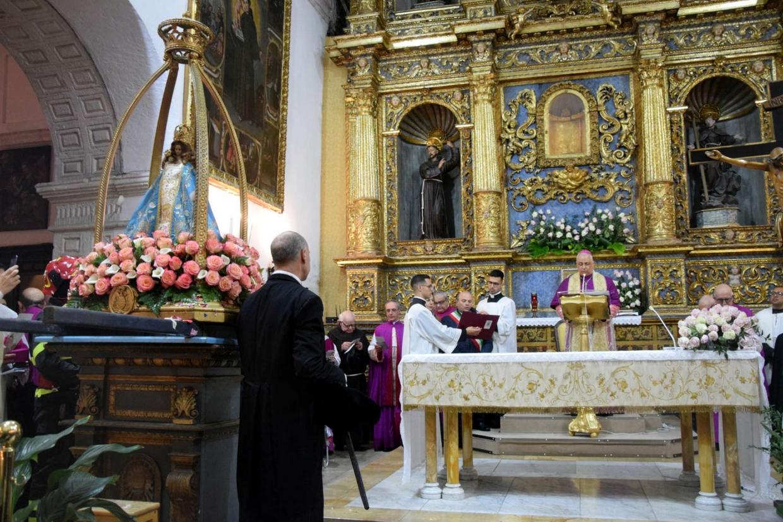 L'omaggio di Sassari alla Madonna delle Grazie negli anni scorsi