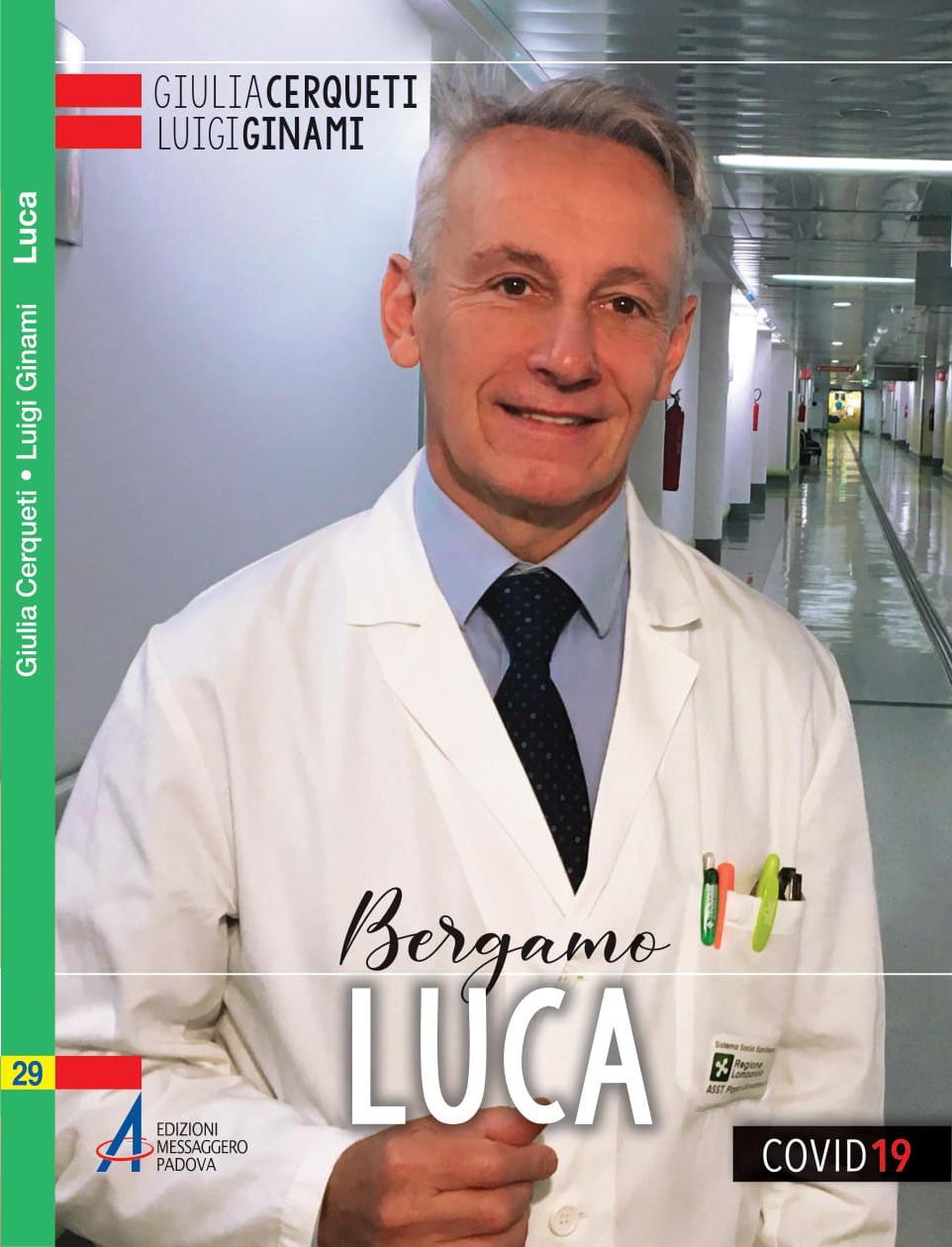 La copertina del libro 'Luca: Bergamo'