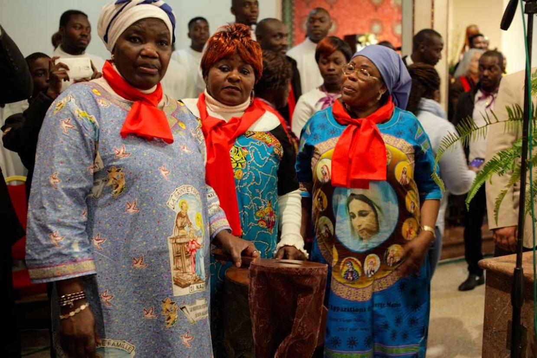 Fedeli cattolici in Marocco