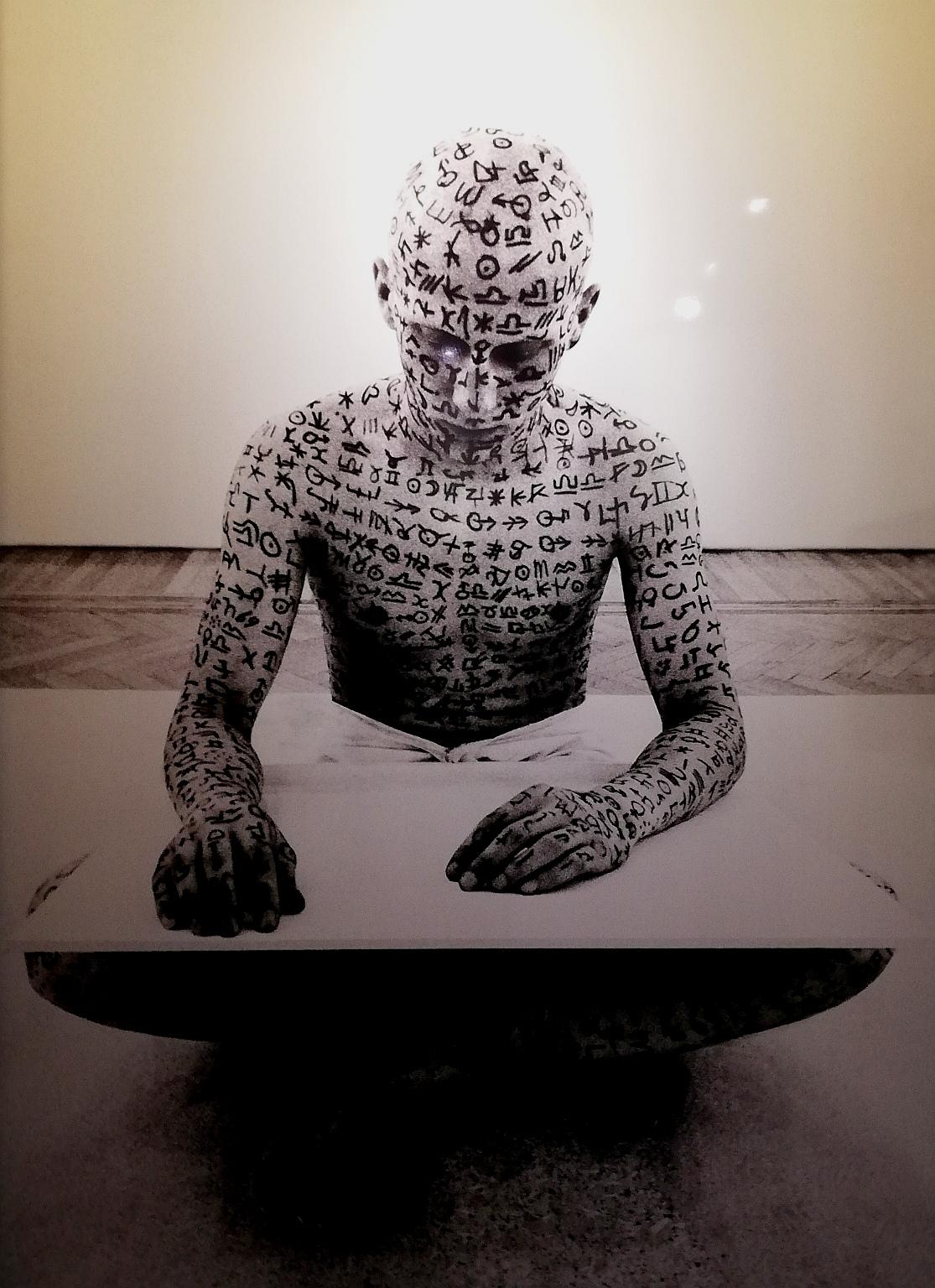 """Claudio Parmiggiani, """"Deiscrizione"""" (1972)"""