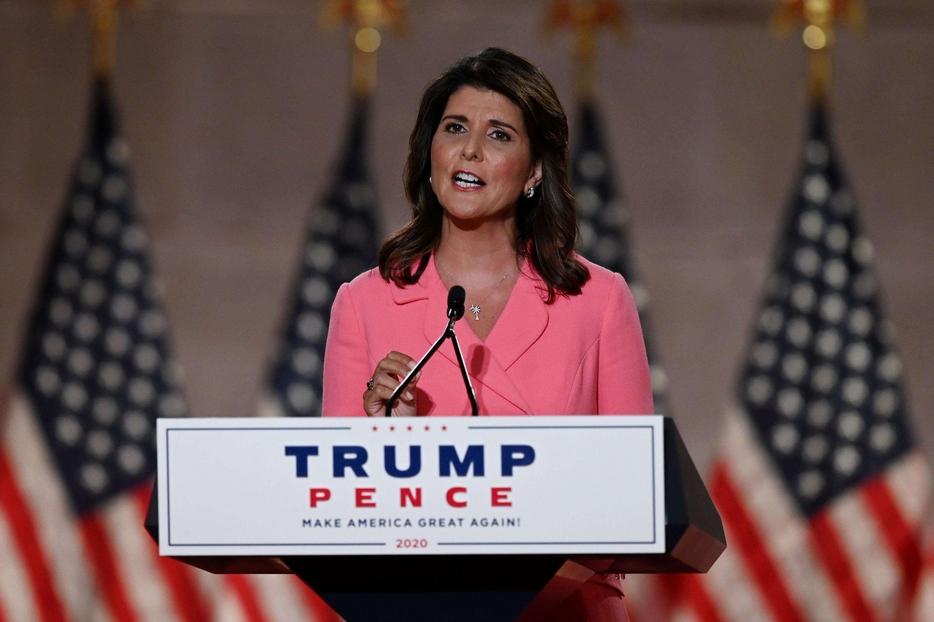 L'ex ambasciatrice Usa all'Onu, Nikki Haley, nastro nascente del partito repubblicano