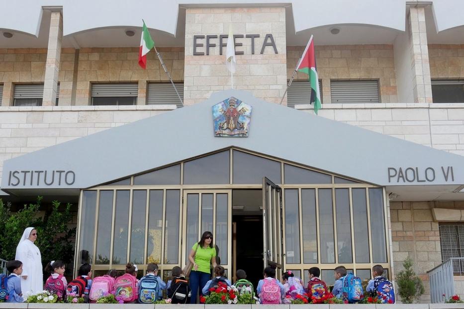 L'istituto Effetà per i ragazzi sordi voluto da Paolo VI a Betlemme