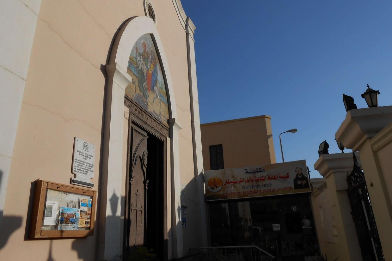 Una chiesa cattolica nel Sud dell'Egitto