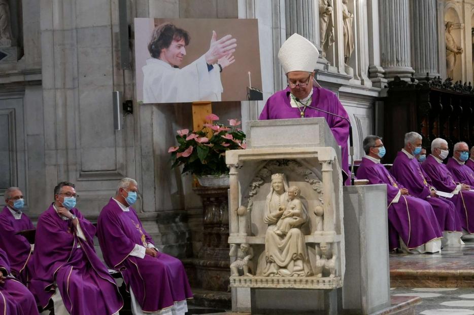 L'omelia del vescovo Cantoni