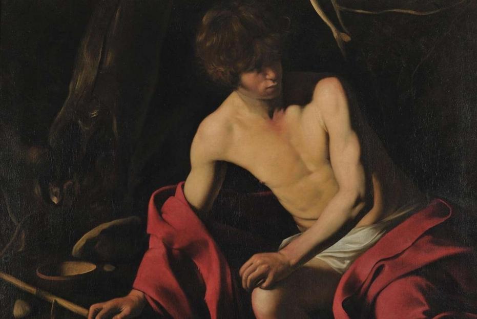 'San Giovanni Battista' di Caravaggio alle Gallerie Nazionali di Arte Antica di Roma
