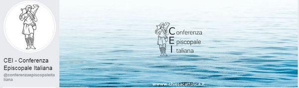 L'account Facebook della Conferenza Episcopale Italiana