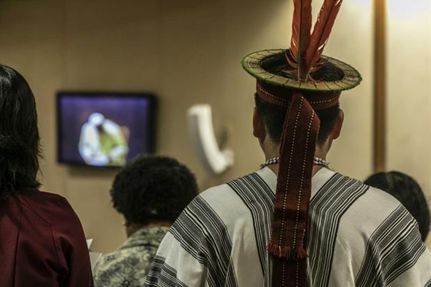 Un momento del Sinodo per l'Amazzonia