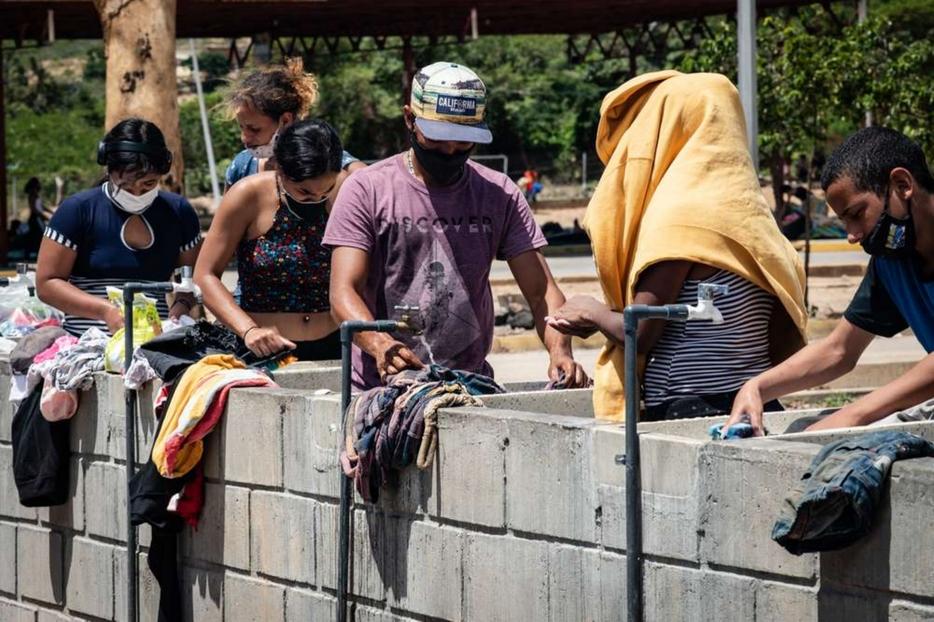 Medici senza frontiere (Msf) assiste i venezuelani 'di ritorno' nei centri per la quarantena