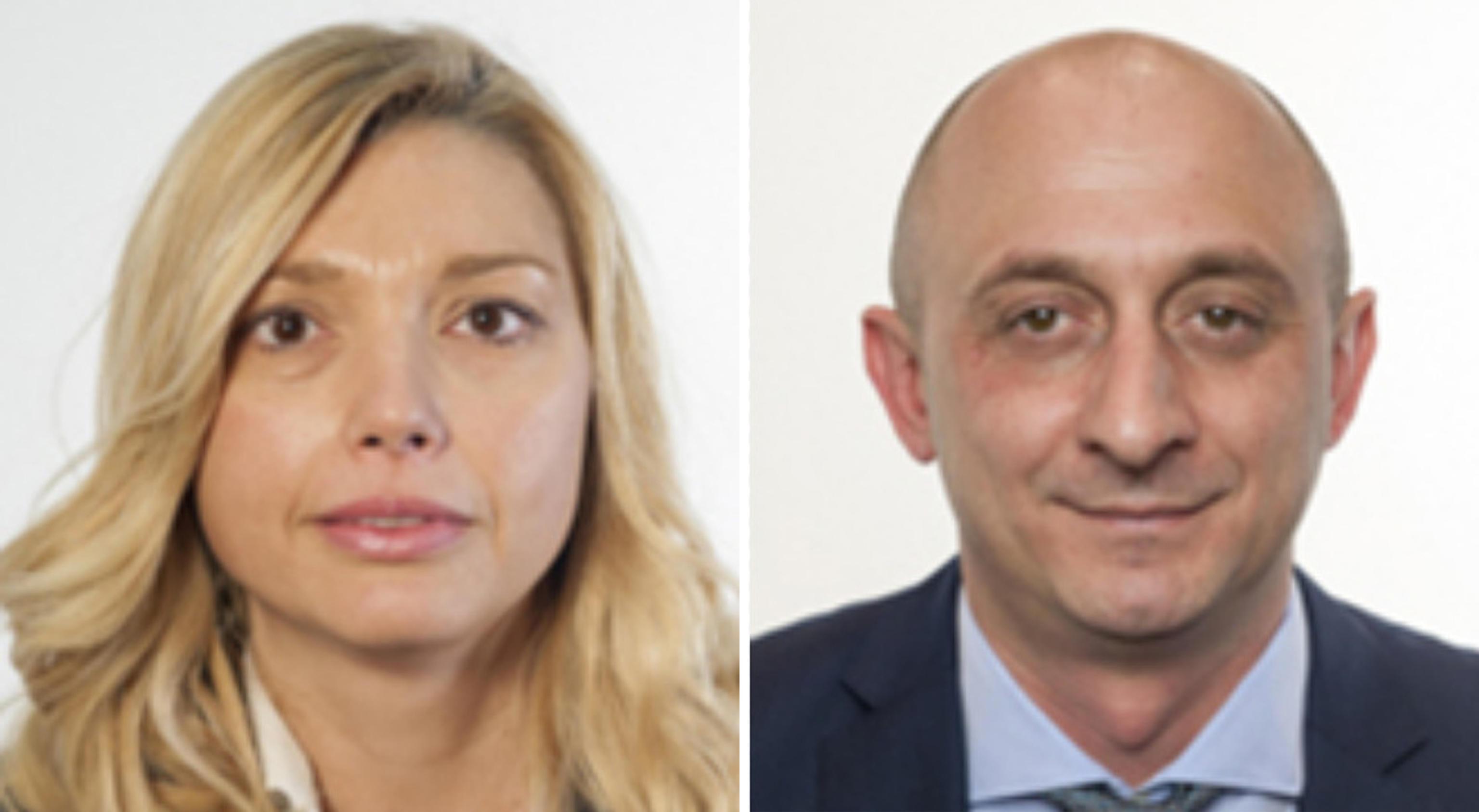 Elena Murelli e Andrea Dara, parlamentari sospesi dalla Lega
