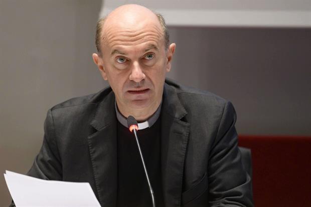 Monsignor Stefano Russo, segretario generale della Cei