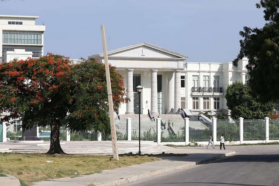 Il palazzo presidenziale nella capitale Port-au-Prince